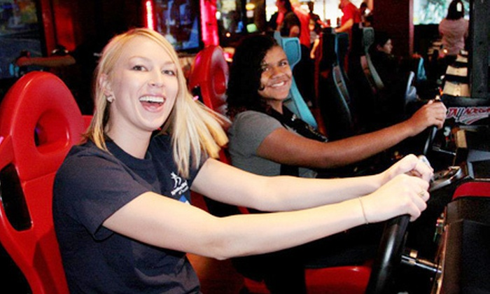 GameWorks - Ontario Center: $20 for an All-Day Game Pass for One to GameWorks in Ontario ($45 Value)