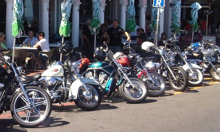 Two-Hour Coastal Harley Davidson Tour from R499 for One with Harley Davidson Tour (Up to 70% Off)
