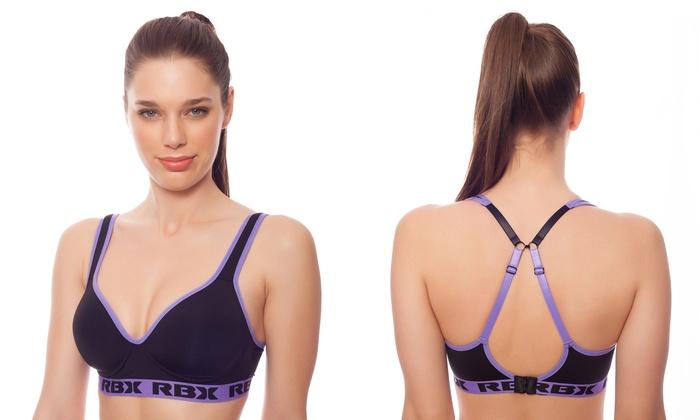 RBX Women's Wire-Free Bra (Size 34C)