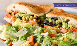 Stone Oven: $12 for Gourmet Sandwiches and Sides for Two at Stone Oven ($20 Value)