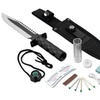 Survival Knife with Survival Kit and Sheath