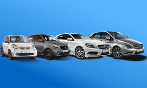 Mercedes- Benz Location: Location Smart ou Mercedes au choix dès 99 € à l'agence Mercedes-Benz Location