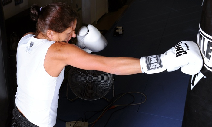 Trainers Elite - Trainers Elite: 10 Adult Kickboxing or Junior MMA Classes at Trainers Elite (Up to 79% Value)