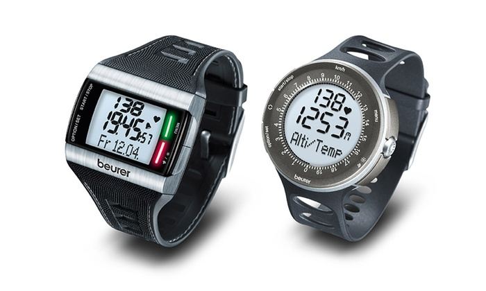 Amazon.com : Beurer PM 80 Heart Rate Monitor Watch ...
