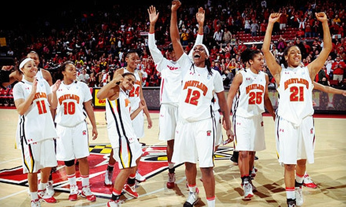 University of Maryland Women's Basketball - XFINITY Center: $13 to See University of Maryland Women's Basketball Game on December 6 at 7 p.m. ($25 Value)