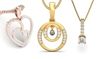 Diamond Pendant from AED 289 (Up to 37% Off)