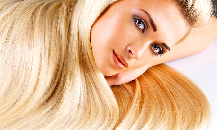 Salon Revelation - Dana Point: Haircut with Option for Deep Conditioning, Partial Highlights, or Color at Salon Revelation (Up to 51% Off)