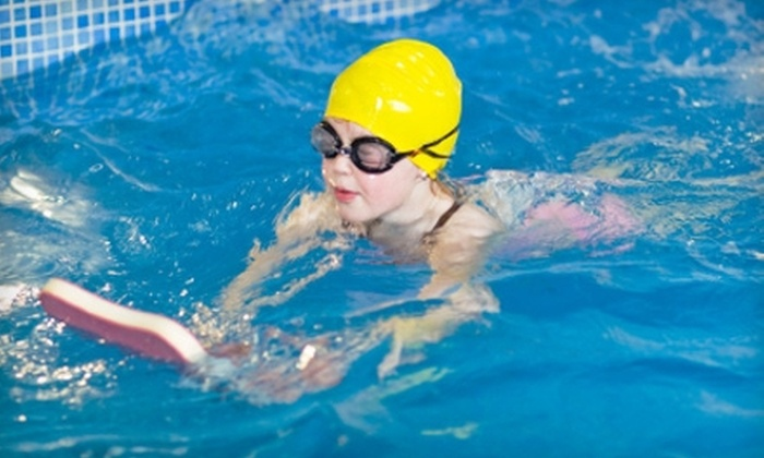 Farber Swim School - Raleigh Hills: Four Private Swim Lessons for One or Four Semiprivate Swim Lessons for Two at Farber Swim School (Up to 59% Off)