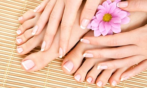 Botanicals Salon & Spa: Mani-Pedi or Spa Package for One or Two with Massage, Facial, and Mani-Pedi at Botanicals Salon & Spa (Up to 66% Off)