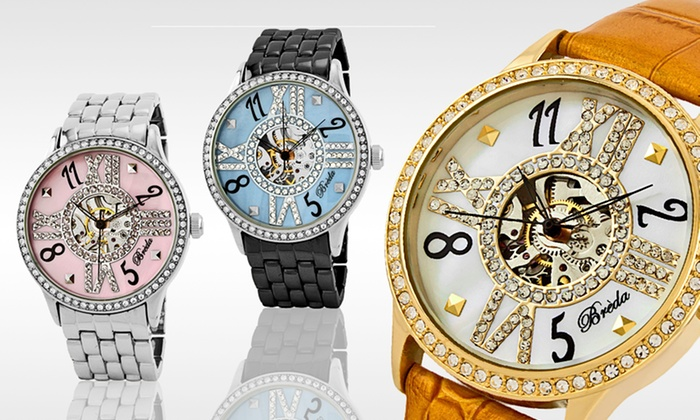 Breda Women's Wind-Up Watches: $34.99 for a Breda Women's Audrey Wind-Up Watch ($72 List Price). 12 Styles Available.