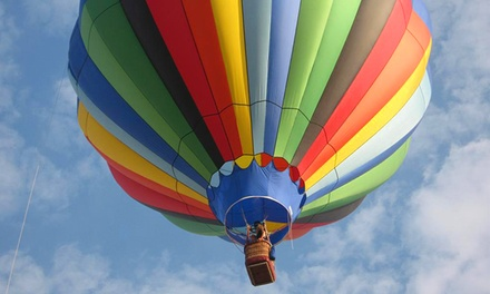 Hot Air Balloon Ride for One or Two with Breakfast and Champagne from Adventure Balloon Rides (Up to 51% Off)