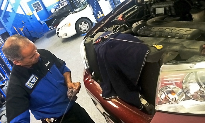 Napa Auto Care - Upland: One or Three Oil-Change Packages at Napa Auto Care (Up to 76% Off)