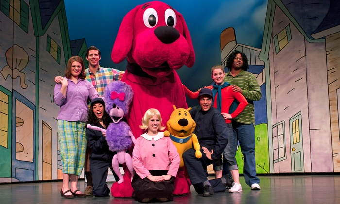 "Clifford the Big Red Dog - Bergen Performing Arts Center: ""Clifford the Big Red Dog Live!"" on April 10, 2016, at 1 p.m. or 4:30 p.m."