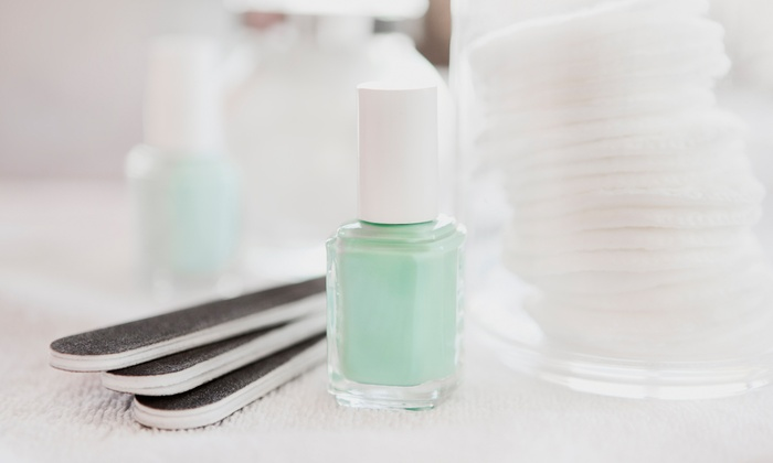 Nails by Desirae Rios - Holladay: One or Two Mani-Pedis at Nails by Desirae Rios (Up to 60% Off)