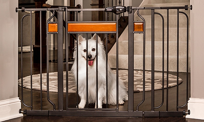 Regalo Home Accents Extra Wide or Extra Tall Walk Thru Gate | Groupon