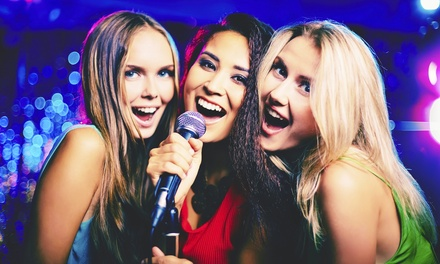 Up to 50% Off Karaoke & Food