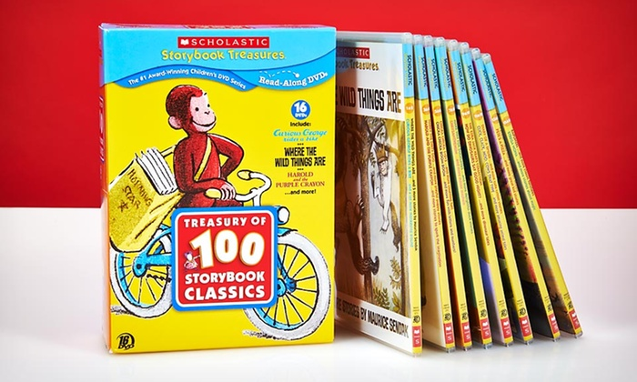 Scholastic Storybook Classics 16-DVD Set: $29.99 for a Scholastic Storybook Treasures 16-DVD Set ($99.95 List Price). Free Shipping and Returns.