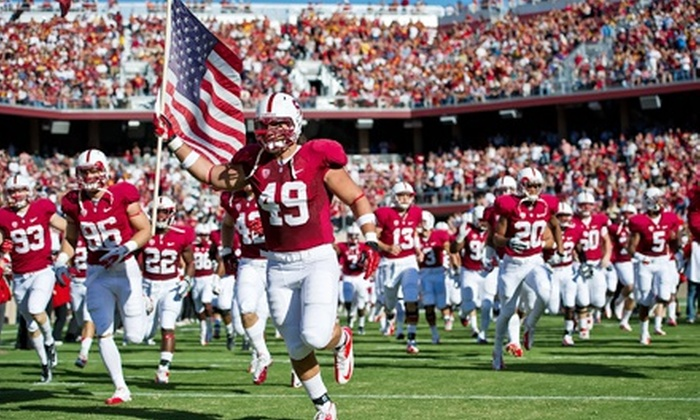 Stanford Cardinal Football vs. Washington Huskies - Stanford: $25 for a Stanford Football Game Against the University of Washington at Stanford Stadium on October 5 ($50 Value)