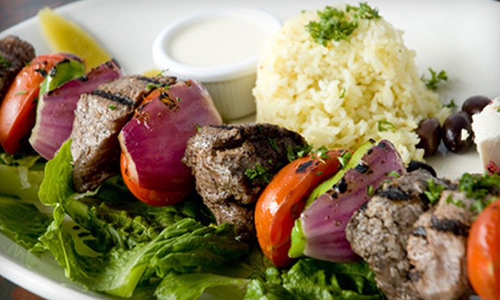 Canal Bistro Mediterranean Grille - Broad Ripple: $15 for $30 Worth of Mediterranean Food at Canal Bistro Mediterranean Grille