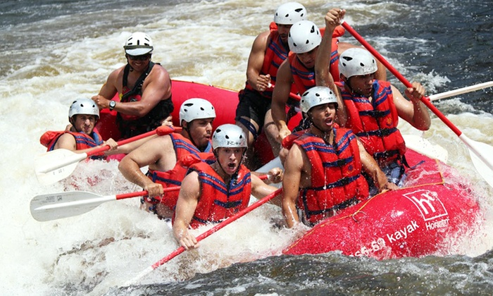 Horizon X - Ile du Grand-Calumet: One-Day Whitewater Rafting or Riverboarding Trip for 1, 2, or 7 with BBQ Lunch from Horizon X (Up to 50% Off)