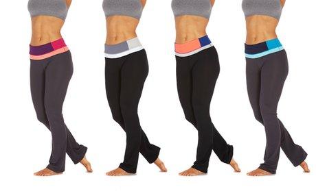 Bally Fitness Women's Tummy Control Pants