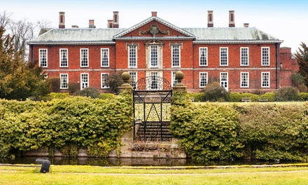 Warwickshire: 1 Night for Two with Breakfast and Option for Dinner and Wine at Bosworth Hall Hotel
