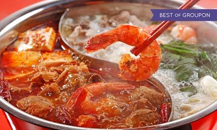 Asiatischer Hot Pot und Dessert für 2 oder 4 Personen bei maiGLÜCKchen (bis zu 50% sparen*)