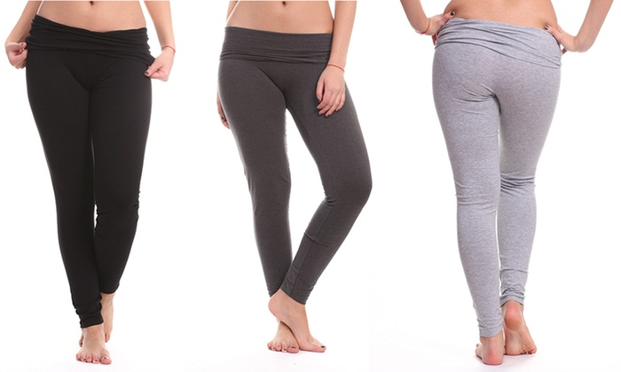 Lolo Lime Plus Size Yoga Pants (2-Pack) | Groupon