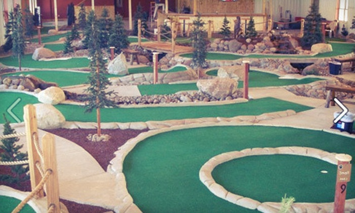 GolfZone - Chanhassen: $29 for Indoor or Outdoor Mini Golf, Pizza, and Drinks for Four at GolfZone in Chaska (Up to $59.95 Value)