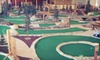 Golf Zone - Chanhassen: $29 for Indoor or Outdoor Mini Golf, Pizza, and Drinks for Four at GolfZone in Chaska (Up to $59.95 Value)