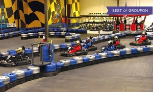 GoKart Racer: $40 for a $50 Gift Card for Racing at GoKart Racer
