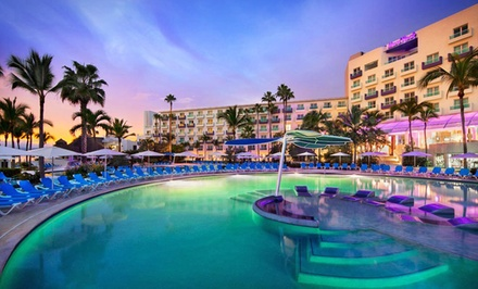groupon daily deal - ✈ All-Inclusive Hard Rock Vallarta Trip with Airfare. Incl. Taxes & Fees. Price Per Person Based on Double Occupancy