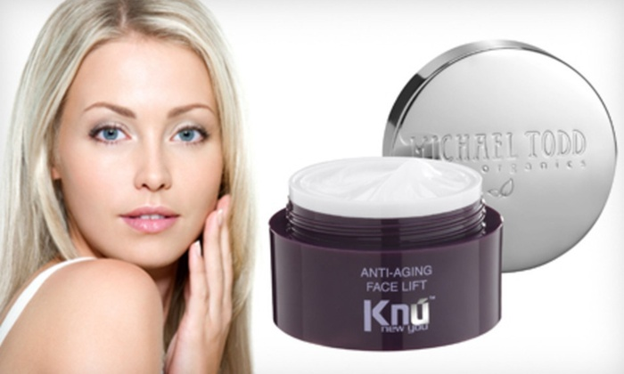 Michael Todd Face-Lift Cream: $24.99 for Michael Todd True Organics KNU Anti-Aging Face Lift Cream ($150 List Price). Free Shipping.