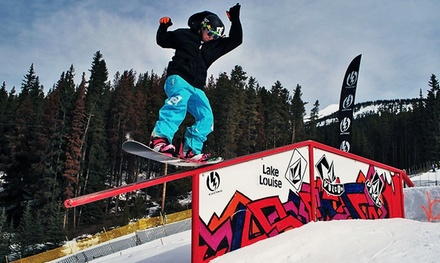 One- to Three-Day Snowboard Rental or Snowboard Wax and Edging at Blank Skate + Snow (Up to 67% Off)