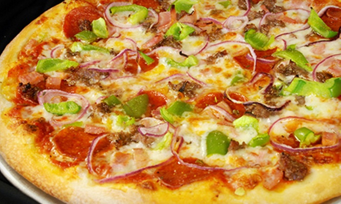 Flancer's - Multiple Locations: $10 for $20 Worth of Gourmet Pizza, Pasta, and Sandwiches at Flancer's