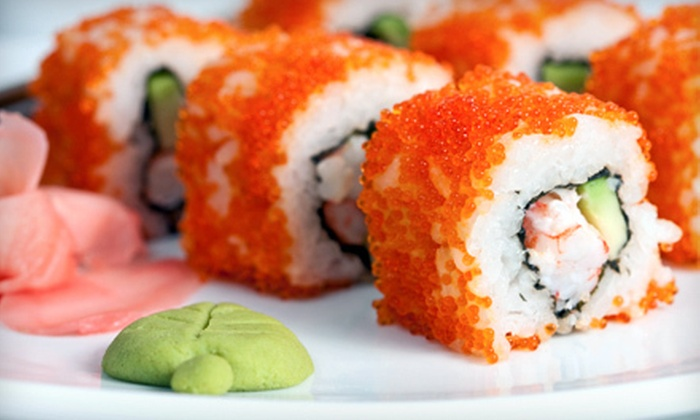 Sansui Restaurant and Sushi Bar - Carmel: $20 for Three-Course Sushi Meal for Two at Sansui Restaurant and Sushi Bar (Up to $40.90 Value)