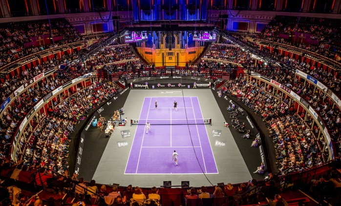Exclusive Price: Champions Tennis at The Royal Albert Hall, Tickets from £18.50 (No Booking Fees)