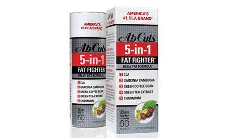 Ab Cuts 5-in-1 Fat Fighter Weight-Loss Supplement (30-Day Supply)