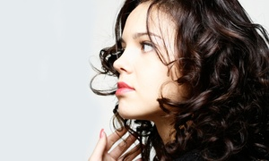 Rhapsody Hair Salon: Haircut and Optional Color or Highlights at Rhapsody Hair Salon (Up to 57% Off)