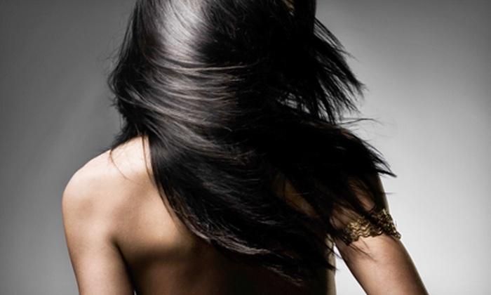 Papillon Hair Salon - Huntington: $119 for a Keratin Treatment at Papillon Hair Salon ($350 Value)