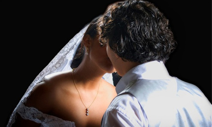 Lamy & Roy Photography - Delray Park of Commerce East: $3,000 for Wedding Photography Package with Photo Album and Canvas Print from Lamy & Roy Photography ($6,000 Value)