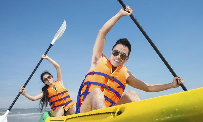 Destination Water Sports Carolinas - Multiple Locations: Up to 89% Off Half- or Full-Day Kayak Rental at Destination Water Sports Carolinas