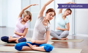 Move GB: Ten Sessions of Yoga, Pilates and More with Move GB, Multiple Locations (79% Off)