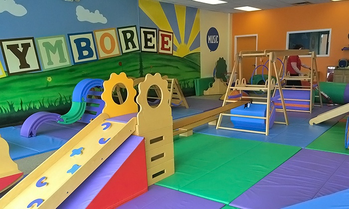 Gymboree Play & Music of Strongsville - Strongville: Four Classes and Unlimited Open-Gym Play for One or Two Children at Gymboree Play & Music (Up to 66% Off)