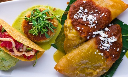 30% Off Modern Mexican Cuisine at Cantina Laredo