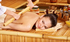 iBliss Spa: Warm Bamboo Massage at iBliss Spa (Up to 50% Off)