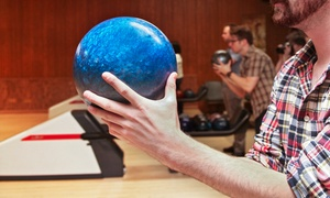 Blue Fox Rock N' Bowl: Bowling and Laser Tag Party Packages at Blue Fox Rock'n Bowl (Up to 57% Off). Six Options Available.