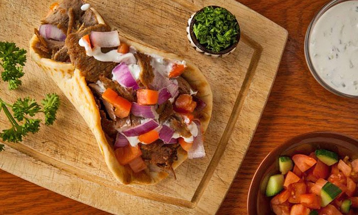 Shish Wraps - University Place: $13 for Two Groupons, Each Good for $10 Worth of Mediterranean Food at Shish Wraps ($20 Total Value)