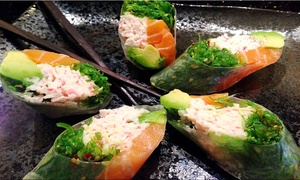 Sushi Yokohama: Sushi and Drinks at Sushi Yokohama (Up to 38% Off). Two Options Available.