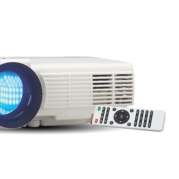 RCA 1080p Compatible Full HD Home Theater LCD Projector for Screens Up to  150